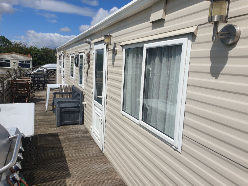Learn more about our static caravan valeting services