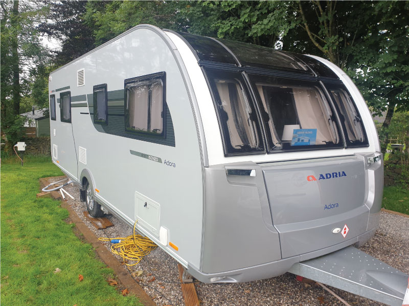 Learn more about our touring caravan valeting services